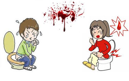 Bệnh trĩ đi ngoài ra máu với nhiều dẫn đến thiếu máu, mất máu và cơ thể suy nhược