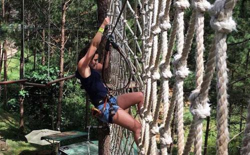Datanla High Rope Course – trải nghiệm hành trình trên cao