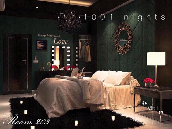Trải nghiệm khách sạn tình yêu huyền bí - Nghìn lẻ một đêm