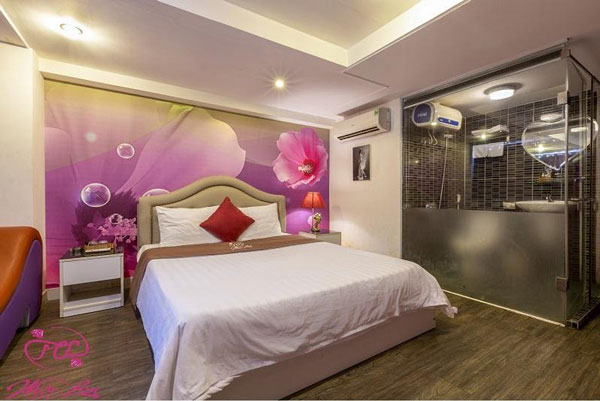 Mộc Lan – khách sạn tình yêu đậm chất phong cách Nhật