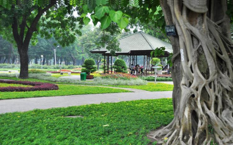 Công viên Gia Định - nơi hẹn hò riêng tư ở tphcm