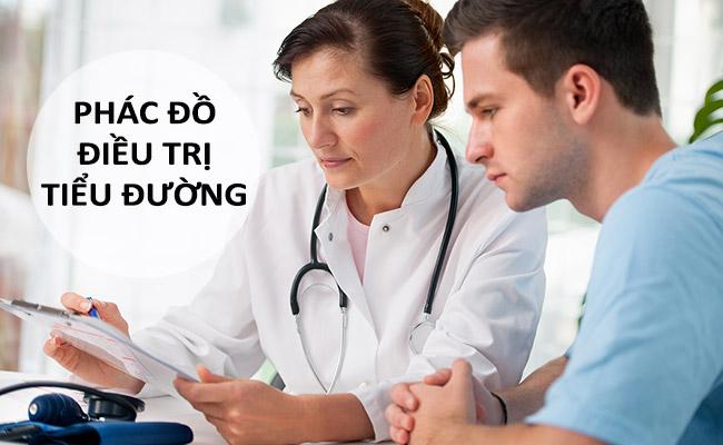 phác đồ điều trị bệnh tiểu đường type 2