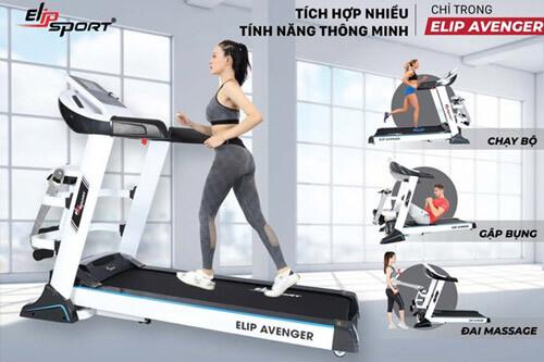 Máy chạy bộ điện đa năng ELIP Avenger