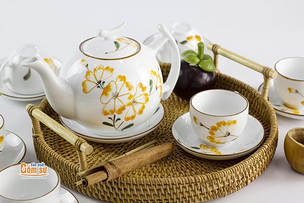 Tách trà ngày tết cũng mang đến sự ấm cúng hơn cho gia đình bạn