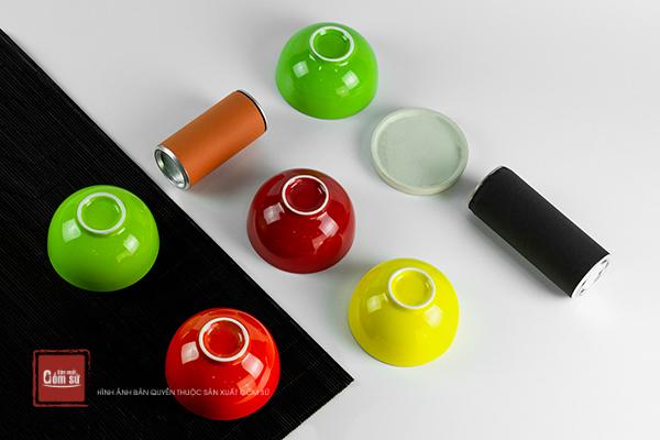 Chén sứ đủ màu giúp căn bếp của bạn nhiều màu sắc hơn